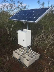 110AH 160W 20x16x10 Programmable Solar Sys w/Remote Monitoring Capability