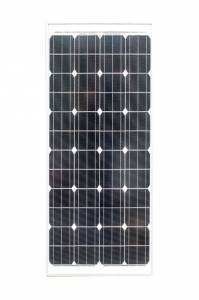 160 Watt Monocrystalline Solar Panel with Mounting Kit