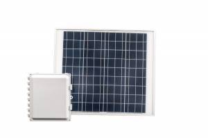 27 Amp Hour 12x10x6 Solar Solution with 60 W Solar Panel