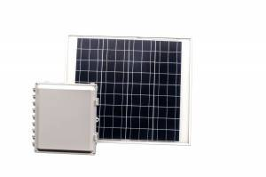 36 Amp Hour 14x12x6 Solar Solution with 60 W Solar Panel