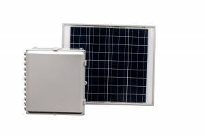 40 Amp Hour 18x16x10 Solar Solution with 60 W Solar Panel