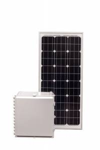 80 Amp Hour 18x16x10 Solar Solution with 90 W Solar Panel