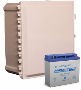 18 Amp Hour 12x10x6 UPS Battery Backup System
